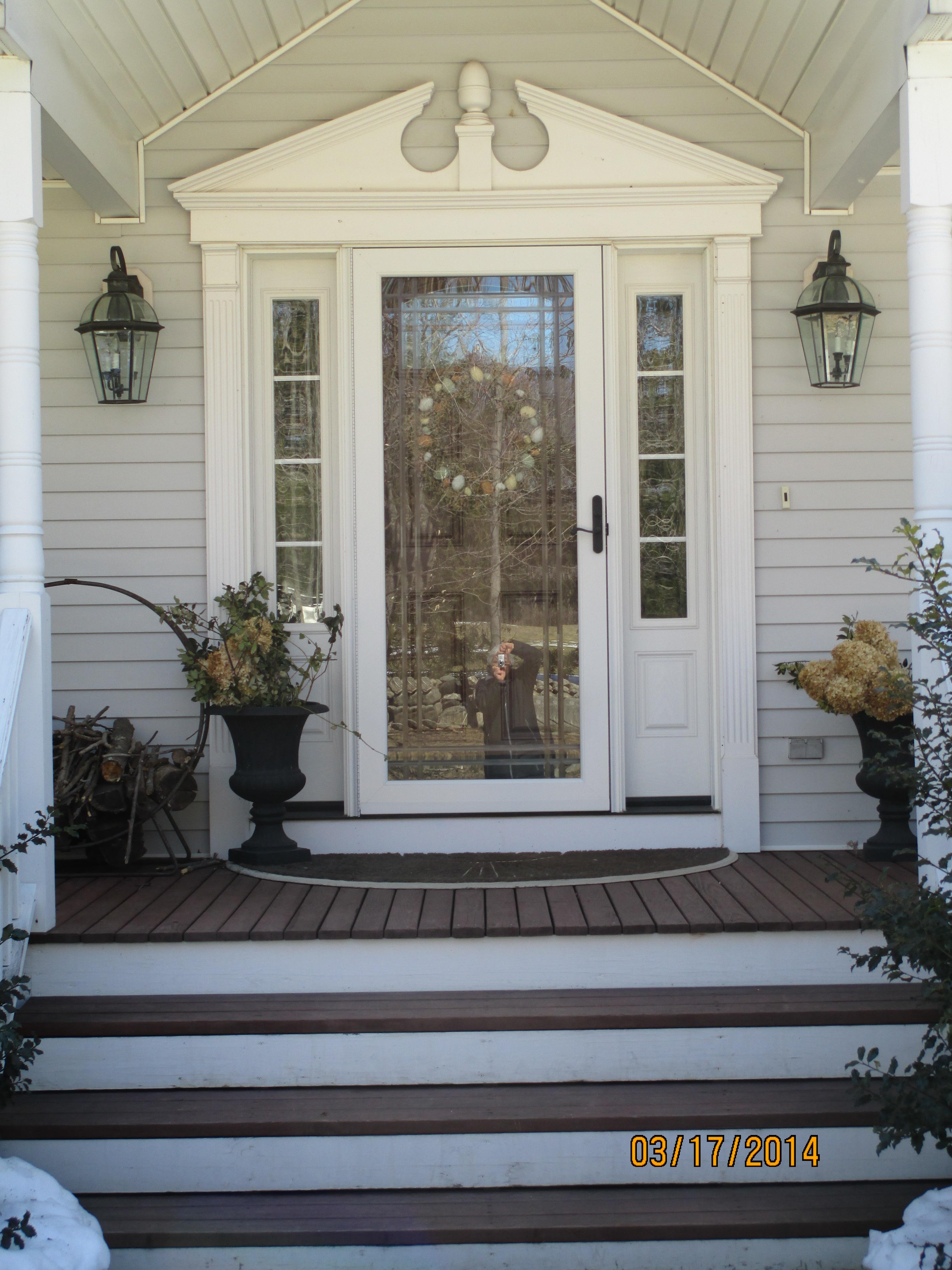 door, windows, trim, siding,