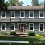 door, windows, trim, siding, roofing, labor, garage