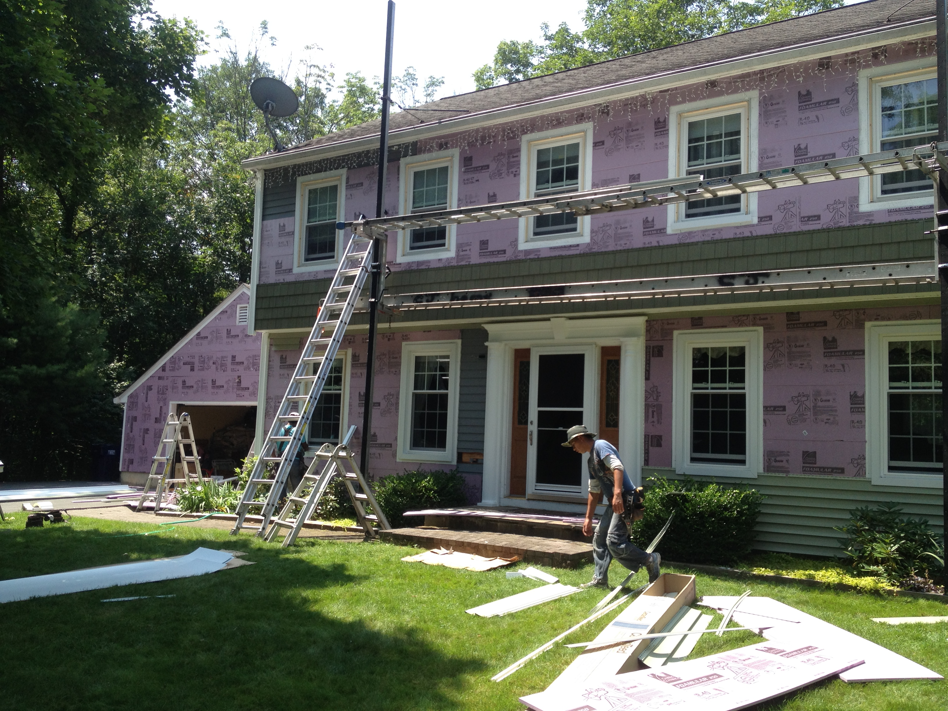 insulation, roofing, siding, windows, doors