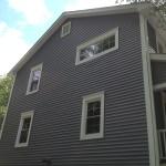 windows, siding, insulation, trim, gutters