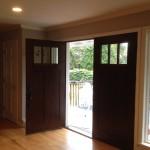 door, windows, siding, trim