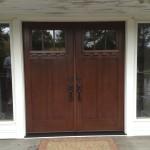 door, windows, siding, insulation