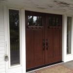 door, windows, insulation, siding, trim