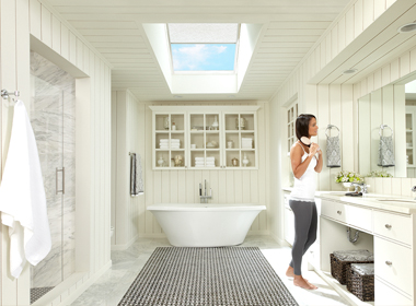 Velux skylights avalon exteriors for How to clean velux skylights